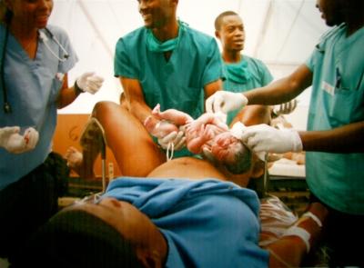 A Birth in Port au Prince